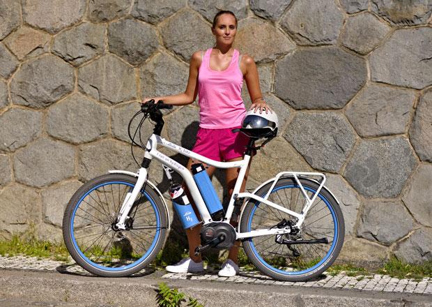 Jezdili jsme na vodíkovém kole Linde H2 bike. Tohle je prý budoucnost!
