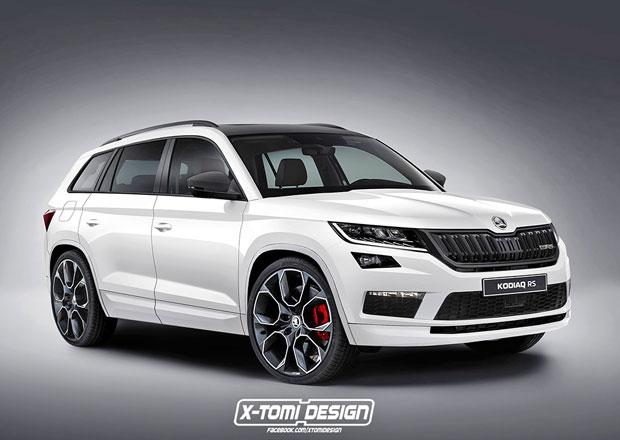 Škoda Kodiaq RS potvrzena. Co ji bude pohánět?