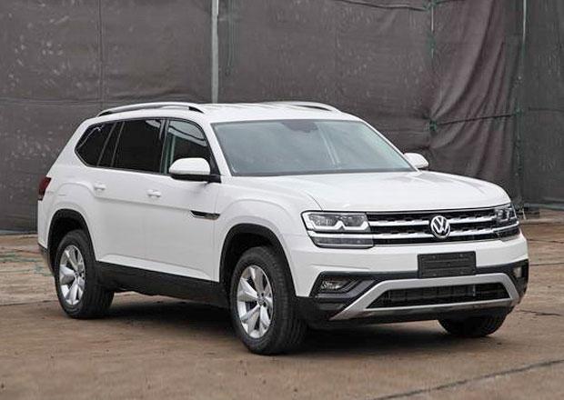 VW Teramont: Velké SUV bude mít přeplňovaný čtyřválec a vypadá... Divně