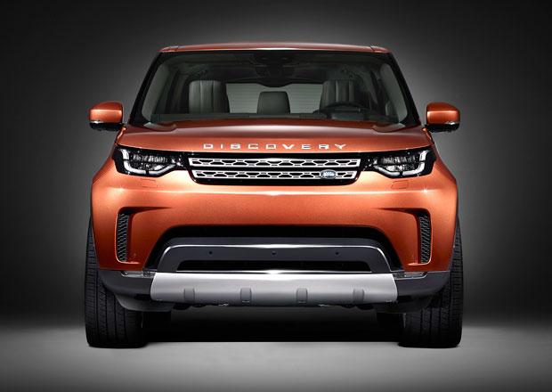 Land Rover Discovery 2017: První teaser ukazuje inspiraci Evoquem