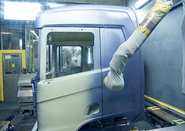 Scania: Výroba kabin jako z budoucnosti (+video)