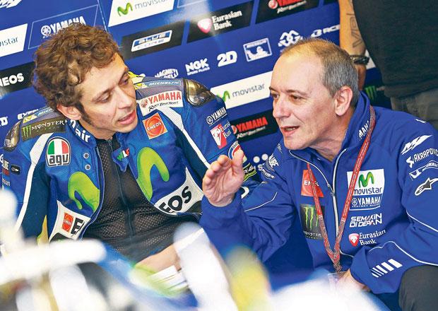 Rozhovor s Lucou Cadalorou: Trénuju Valentina Rossiho!