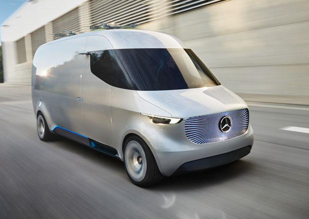 Mercedes Vision Van: Zboží bude sám rozvážet i vydávat!