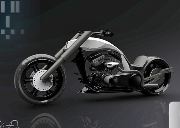 TT Nasty Tiger: Chopper nové generace (+video)