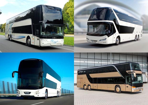 Neoplan, Setra, Van Hool a VDL: Patrový autobusový luxus (+video)