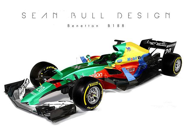 Formule 1: Jak by vypadaly současné monoposty v historickém zbarvení?
