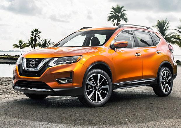 Nissan Rogue: Takto bude vypadat faceliftovaný X-Trail (+video)