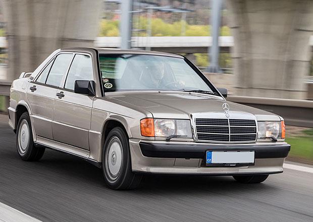 Za volantem Mercedesu 190 2.5-16: Co má společného s Ayrtonem Sennou?