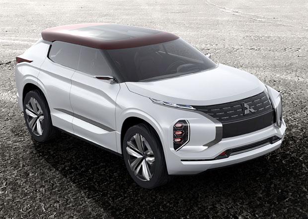 Mitsubishi GT-PHEV: Hybrid se třemi elektromotory a dojezdem 1200 km