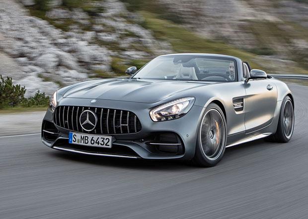 Mercedes-AMG GT C Roadster oficiálně. Otevřené superauto odhaluje svá tajemství