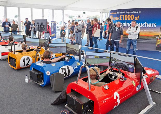 Classic F1 Race Simulators: Bezpe�n� n�vrat do divok�ch �edes�t�ch let (+video)