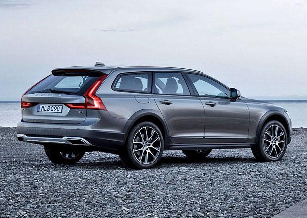 Volvo V90 Cross Country oficiálně: Oplastované kombi jako auto pro dobrodruhy