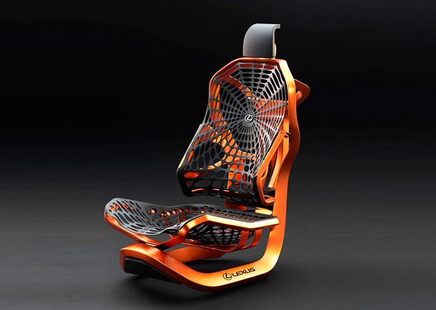 Lexus bude v Paříži vystavovat... pavoučí sedačku!