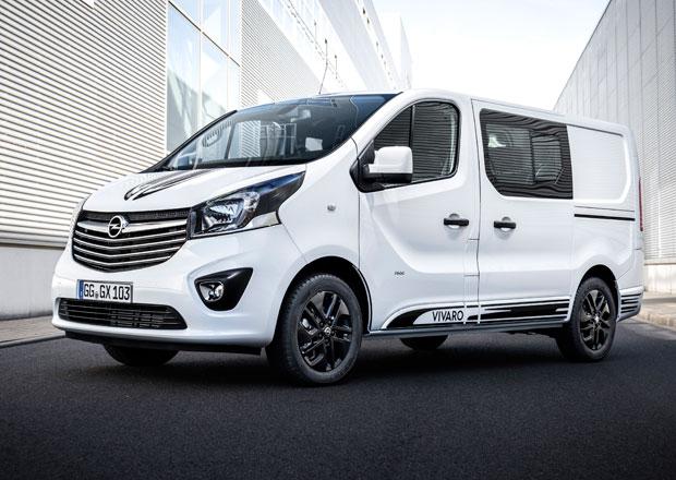 Opel Vivaro Sport: Když se do práce spěchá