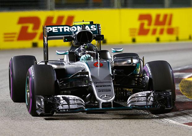 VC Singapuru F1 2016: Rosberg vyrazí do své 200. GP z prvního místa