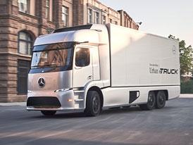 Mercedes-Benz Urban eTruck: Rozvoz zbo�� v tichu a bez emis�