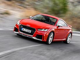 ��dili jsme nov� Audi TT RS: Je to p�tiv�lcov� motok�ra!