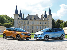 J�zdn� dojmy Renault Sc�nic a Grand Sc�nic: Kdy� m�gane nesta�� a espace je u� moc