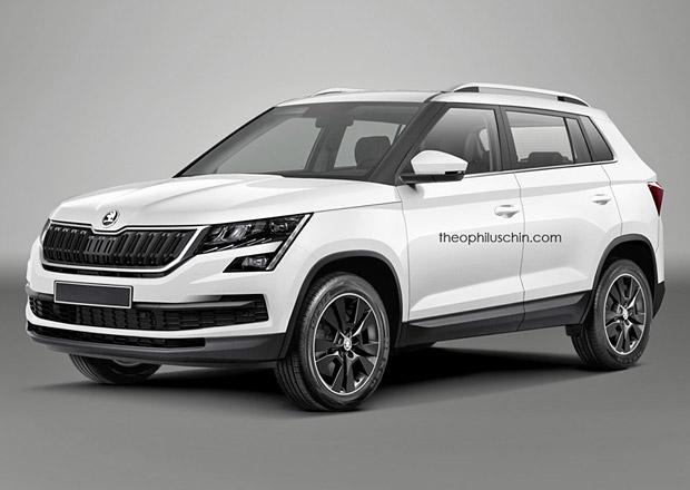 Škoda Fabiaq: Bude takto vypadat budoucí malé SUV?