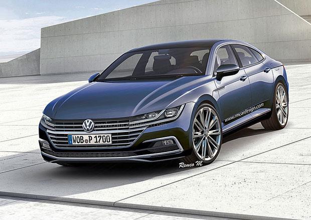 Volkswagen CC (2018): Bude i v sérii takhle drsný?