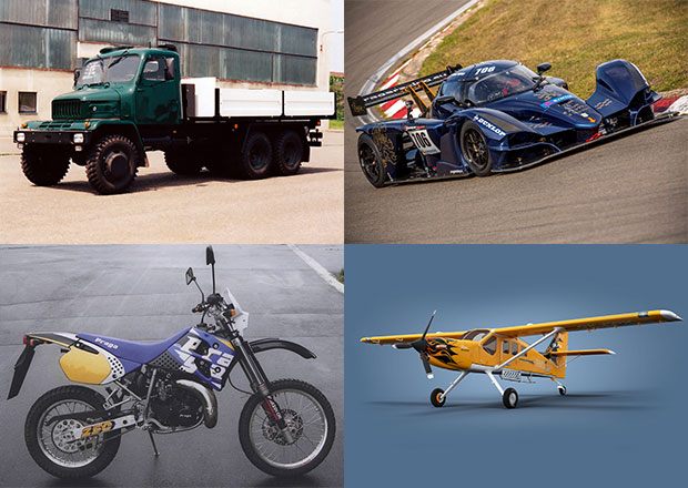 Praga v nové době: Od náklaďáků, přes motorky, k závodním autům a letadlům