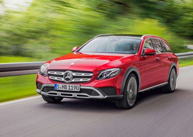 Mercedes-Benz E All-Terrain: Stuttgartský allroad se představuje (+video)