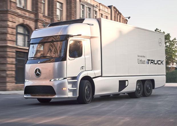 Mercedes-Benz Urban eTruck: Rozvoz zboží v tichu a bez emisí