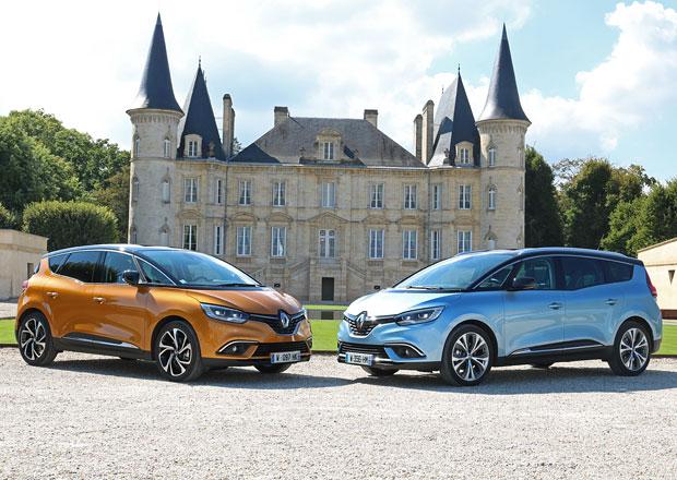 Jízdní dojmy Renault Scénic a Grand Scénic: Když mégane nestačí a espace je už moc