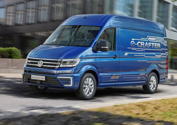 Volkswagen e-Crafter: Elektrická dodávka s dojezdem přes 200 km