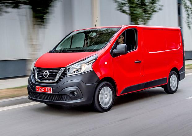 Nissan NV300 je další sourozenec pro Renault Trafic (+video)
