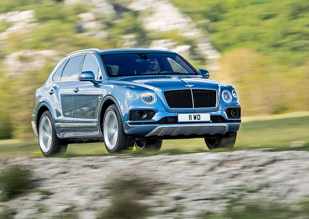 Bentley Bentayga Diesel: 900 N.m z osmiválce