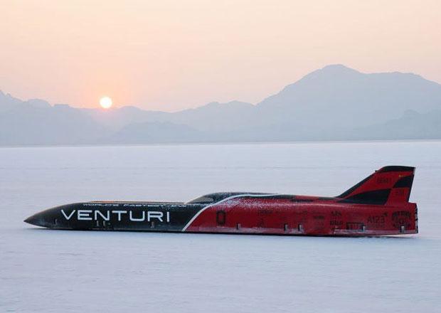 Venturi VBB-3 je nejrychlejší elektromobil planety. Kolik jede?