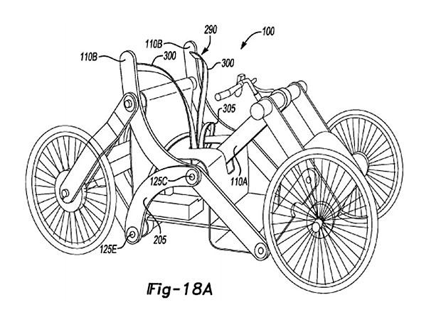 Ford má patent na skládací jízdní... kolo(?)