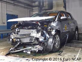 Euro NCAP 2016: Peugeot 3008 � P�t hv�zd i pro druhou generaci