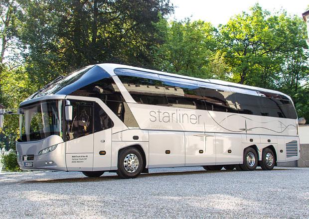 MAN a Neoplan: Luxusní zájezdové autobusy na míru (+videa)