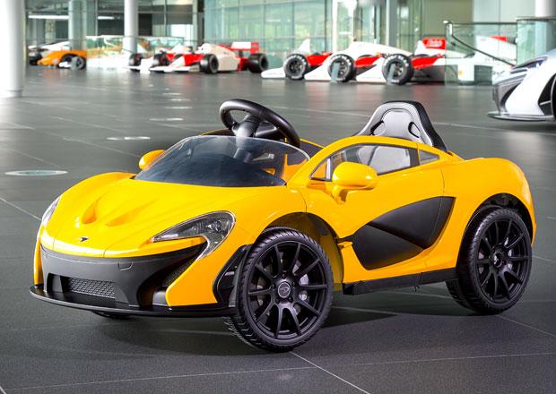 McLaren P1 se vrací jako elektromobil, ale je jen pro děti