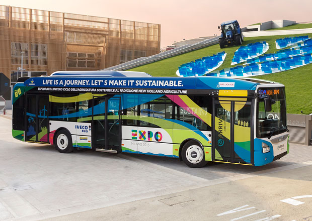 Iveco Bus: Autobusy s pohonem CNG