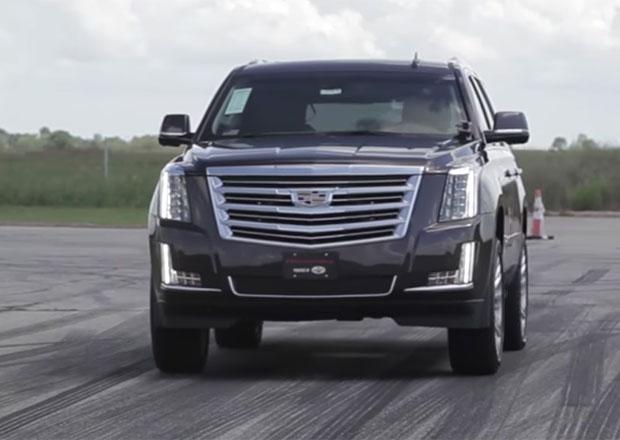 Video: Cadillac Escalade HPE800 s výkonem přes 850 koní a jeho zběsilá akcelerace