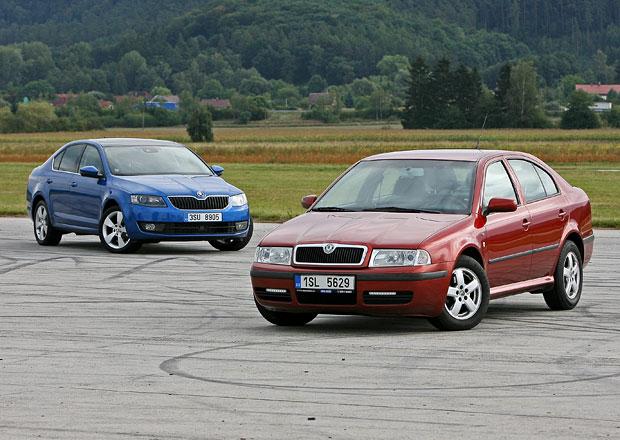 Škoda Octavia I 1.9 TDI vs. Škoda Octavia III 1.6 TDI – Pokrok na všech na všech frontách?