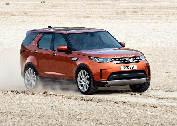 Nový Land Rover Discovery oficiálně: V hlavní roli rodina