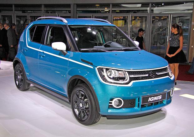 Suzuki Ignis naživo: Premiéra povedeného crossoveru se těsně stihla