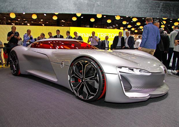 Renault Trezor: Formule E převlečená za GT odhaluje budoucnost značky (+video)