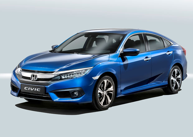 Honda Civic X Sedan: Oficiálně i pro Evropu
