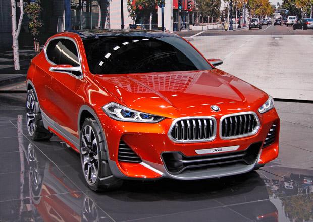 BMW Concept X2: Divoká alternativa nejmenšího bavorského SUV