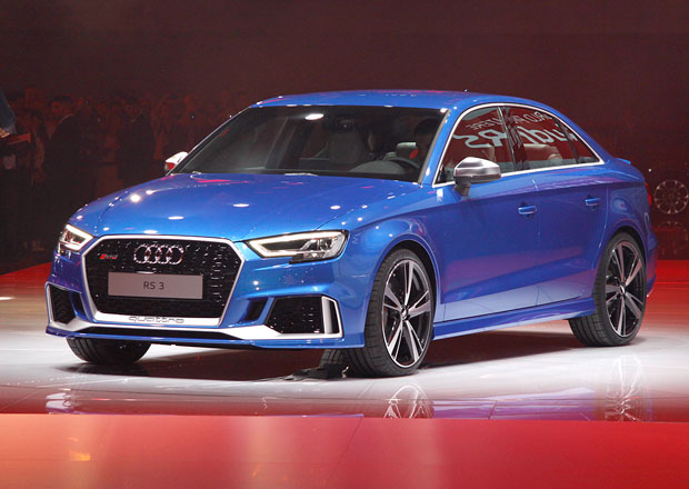 Audi RS 3 Sedan: Nejvýkonnější zástupce řady A3 (+video)