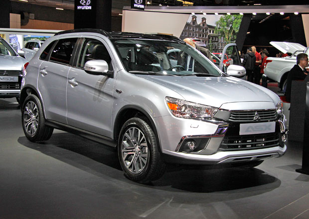 Mitsubishi ASX 2017: Nejen dynamičtější vzhled