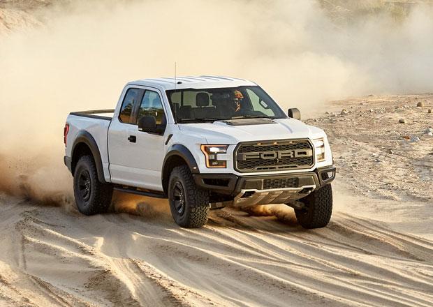 Ford F-150 Raptor: Více koní a méně paliva pro rok 2017