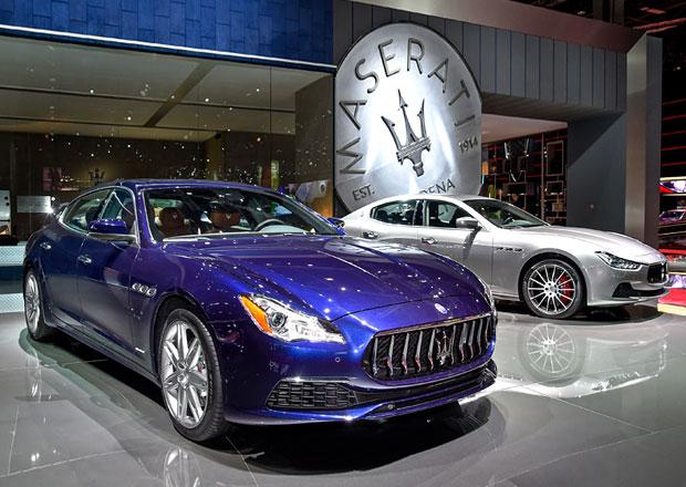 Maserati Quattroporte a Ghibli: Modernizace hlavně pod kabátem