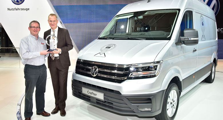Volkswagen Crafter: International Van of the Year 2017