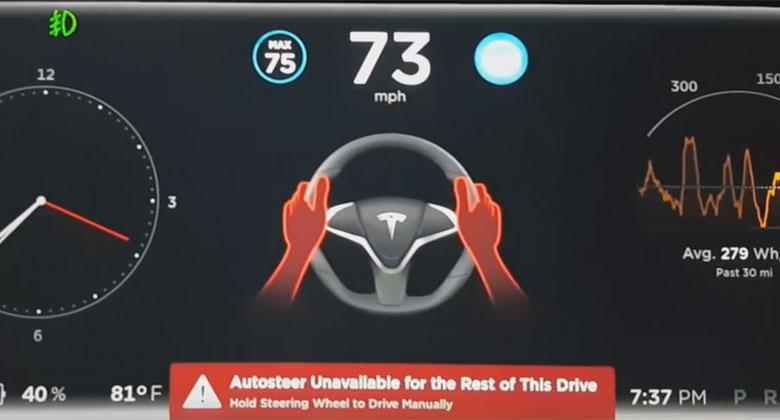 Tesla Autopilot: Co se stane, kdy� odm�tnete dr�et volant? (video)